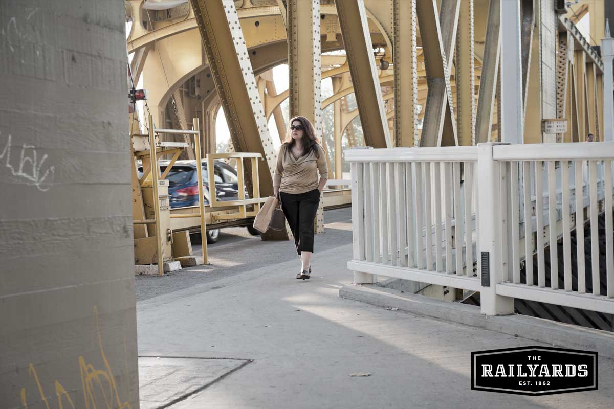 How the Railyards Plan Encourages Cycling and Walkability in Sacramento