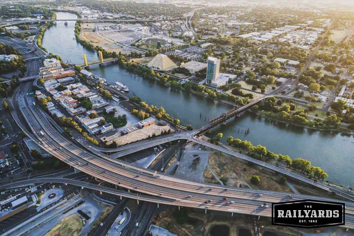 How The Sacramento Railyards Will Connect Downtown to the Rivers